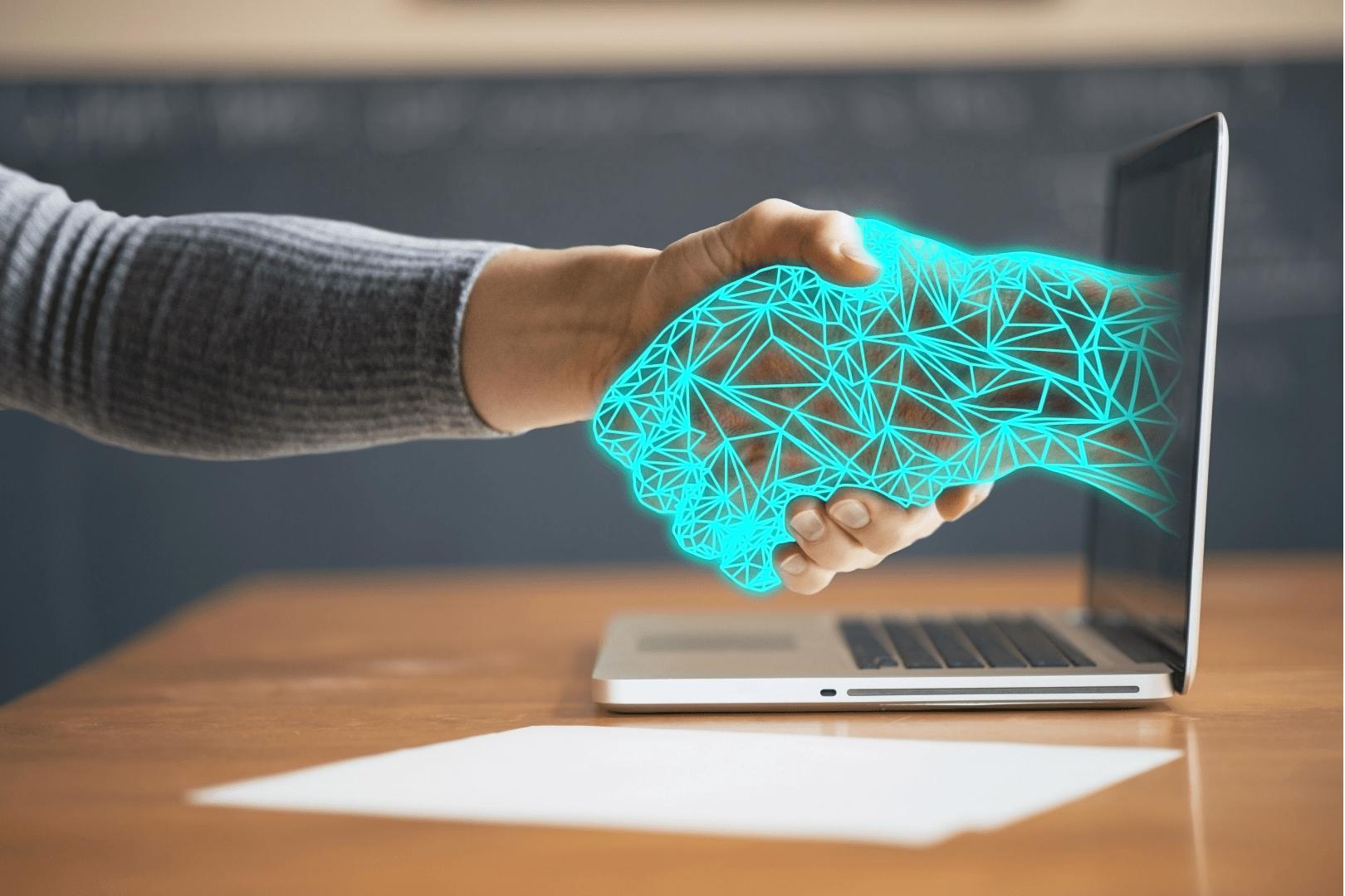 Viestintäblogi kuva teknologia ja inhimillisyys