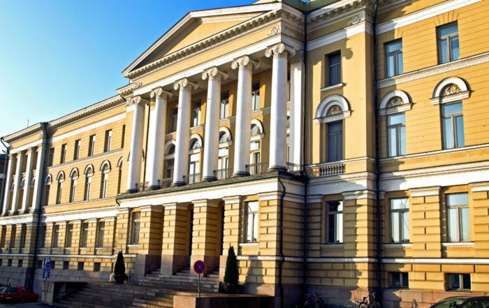 Helsingin yliopisto päärakennus, kuva: Ari Aalto